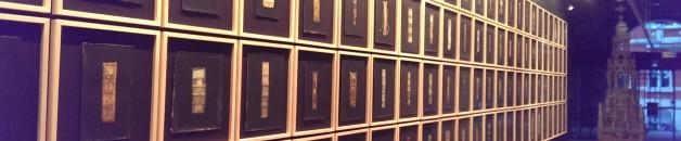 Book spine exhibition