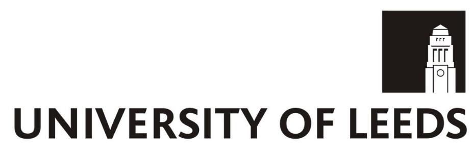 University of Leeds - West Yorkshire, England